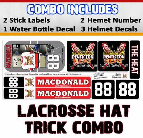 Lacrosse Hat Trick Combo