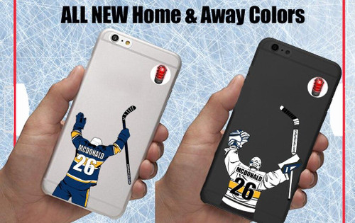 3 Pack Celly Decal-Hurricanes