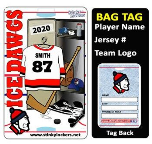 Richmond Jets Bag Tag