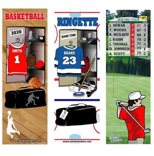 Personalized Softball Bookmark - Set of 2