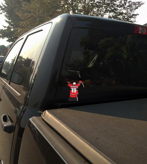 Lacrosse Car or Truck Window Graphics