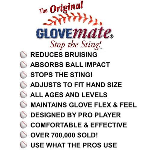 Glovemate or Stop the Sting or Baseball, Softball and Hockey Hand Protection