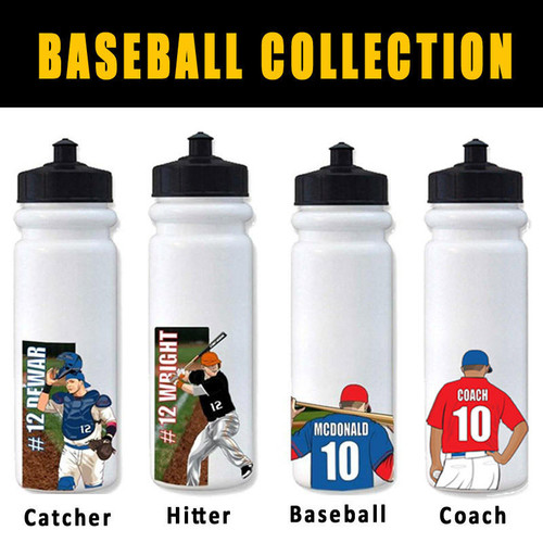 10 Pack Bottle with Decal of choice Team Order