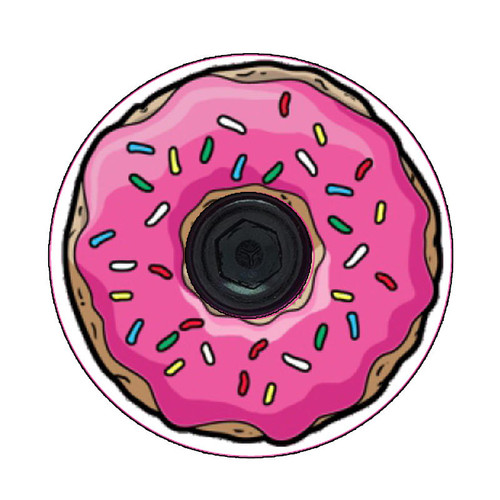 Icing Donut Headset Top Cap Decals-Set of 4