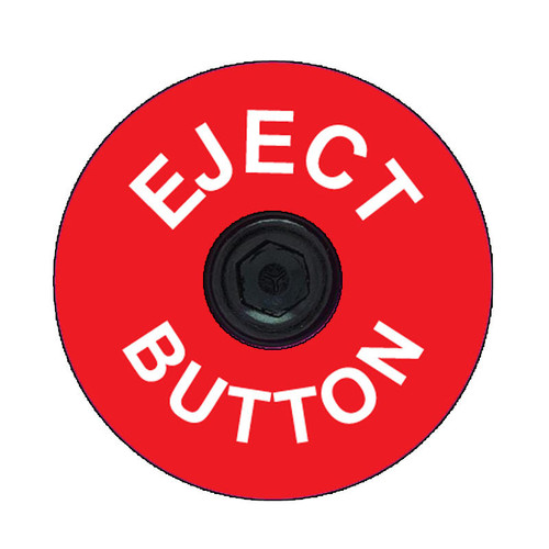 Eject Button Headset Top Cap Decals-Set of 4