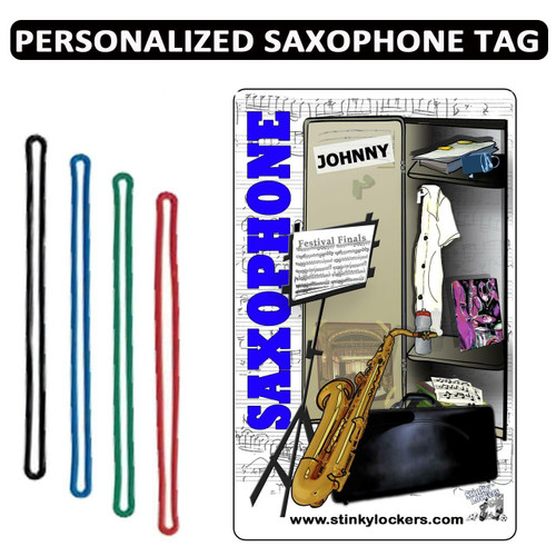 Personalized Instrument Case Luggage Tag with Loop