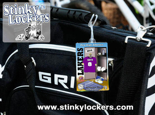 Personalized Volleyball Luggage Tag with Loop