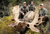 Another successful moose hunt at Stone Mountain Safaris