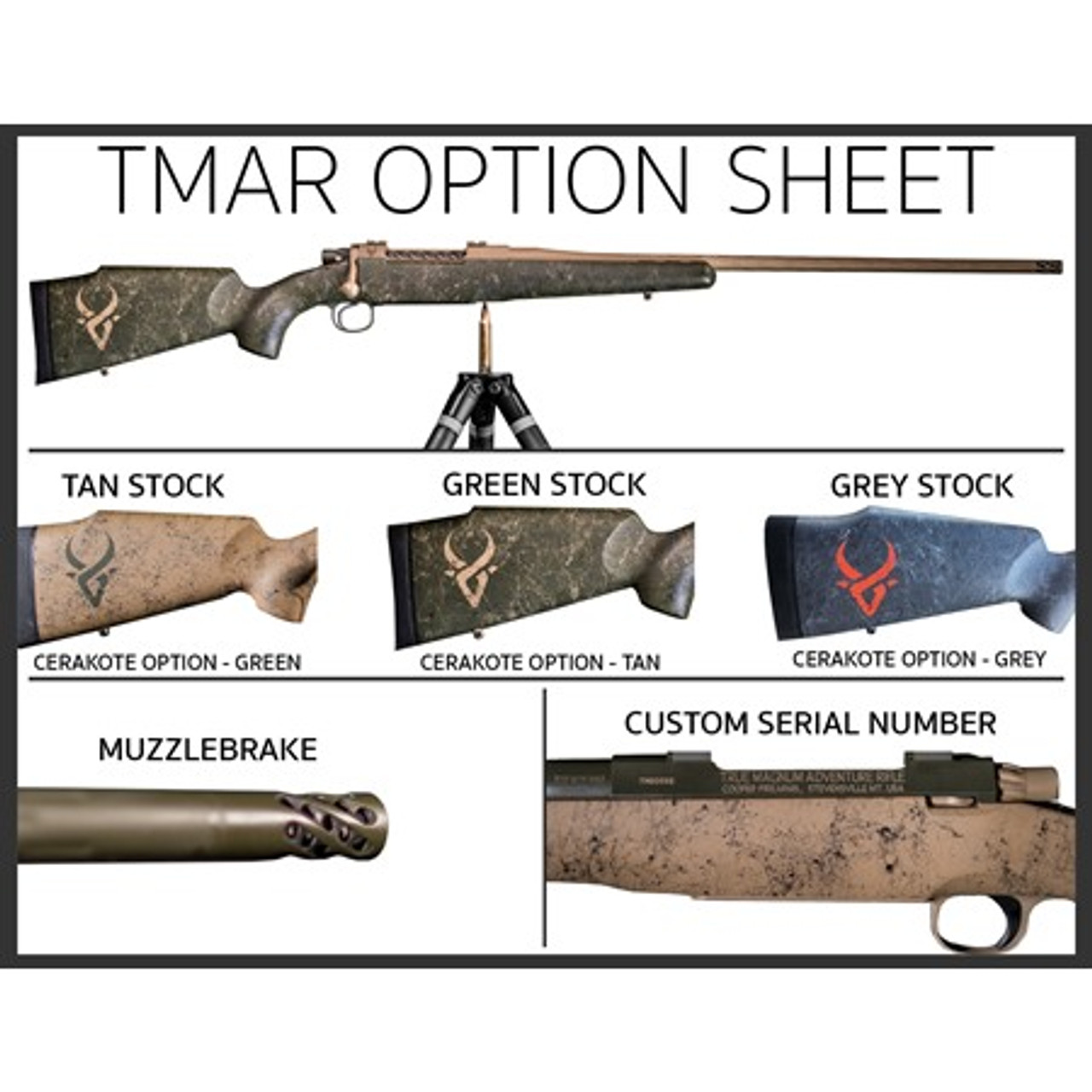 True Magnum Adventure Rifle Options