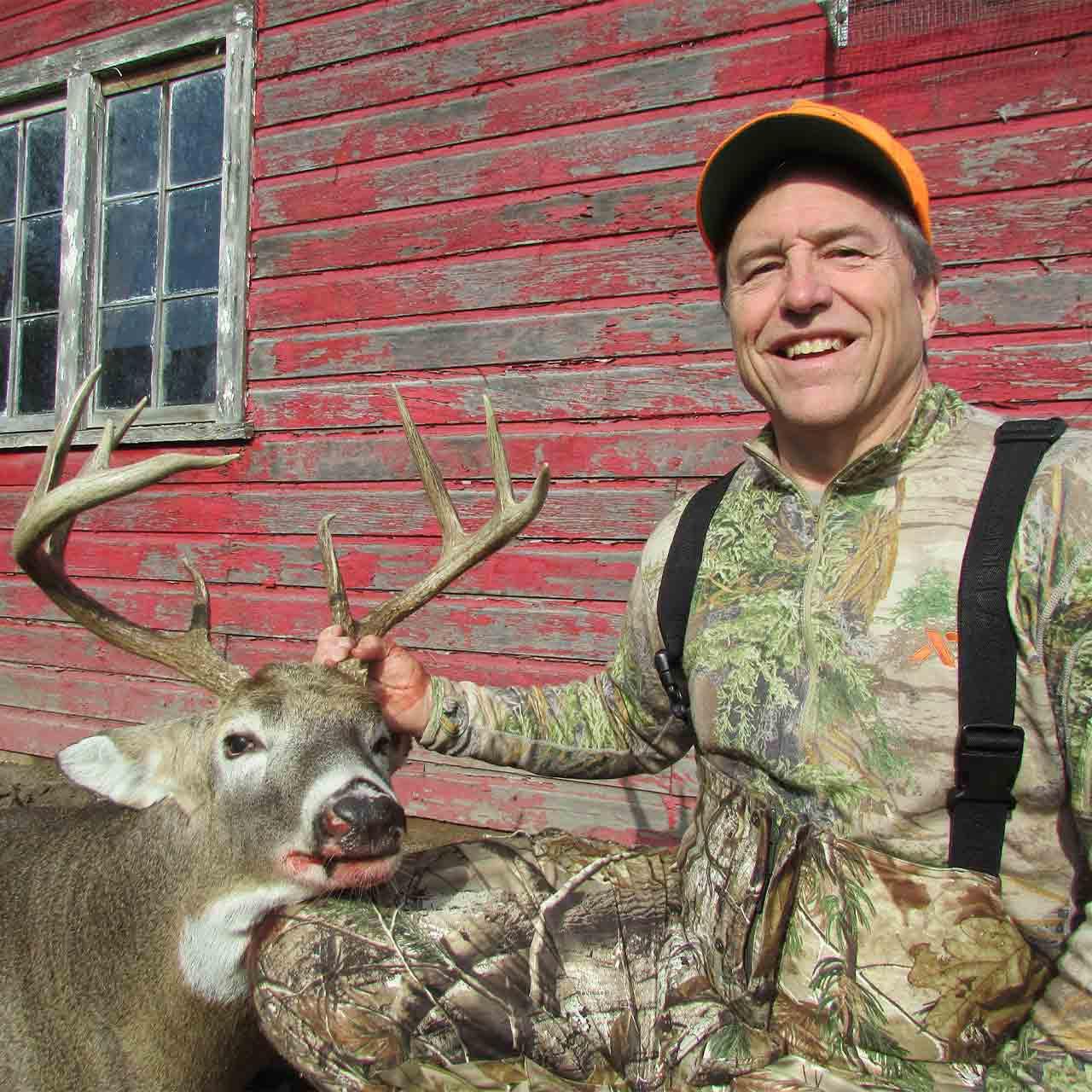 Whitetail rifle hunt in Nebraska