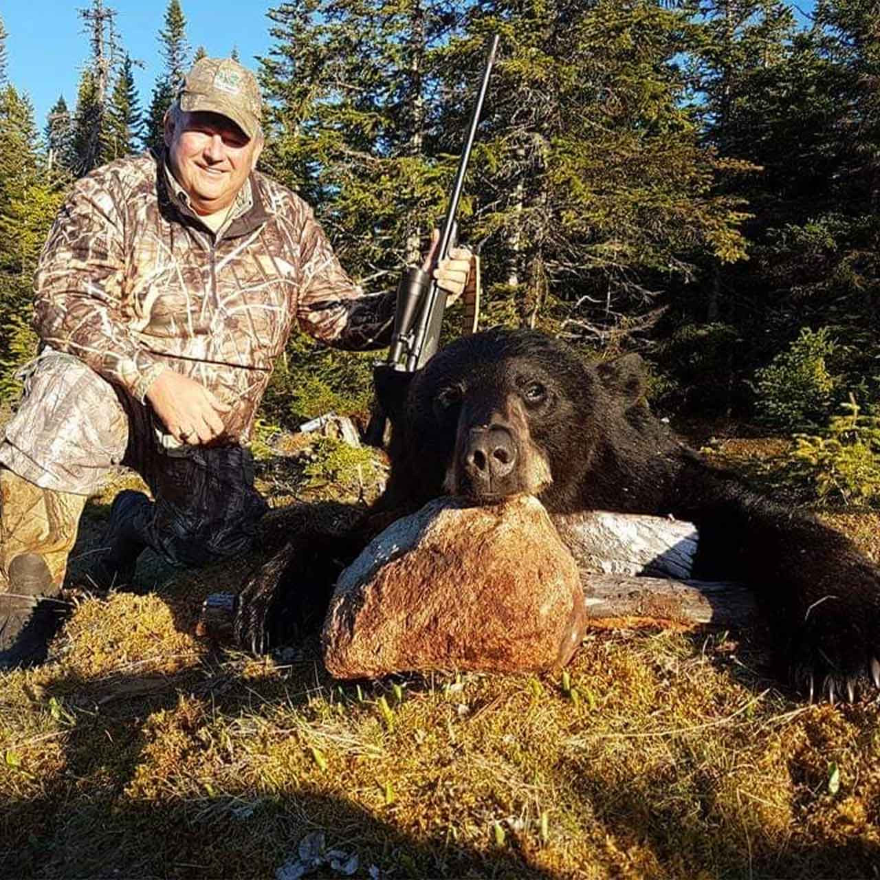 Spring Black Bear Hunt in Eastern Canada