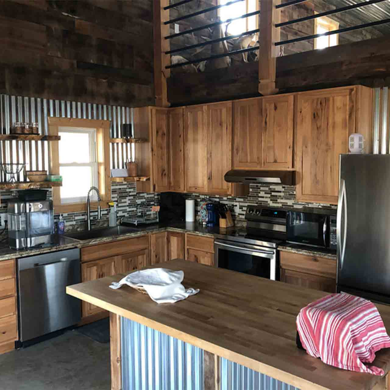Accommodations at the lodge and cabins.