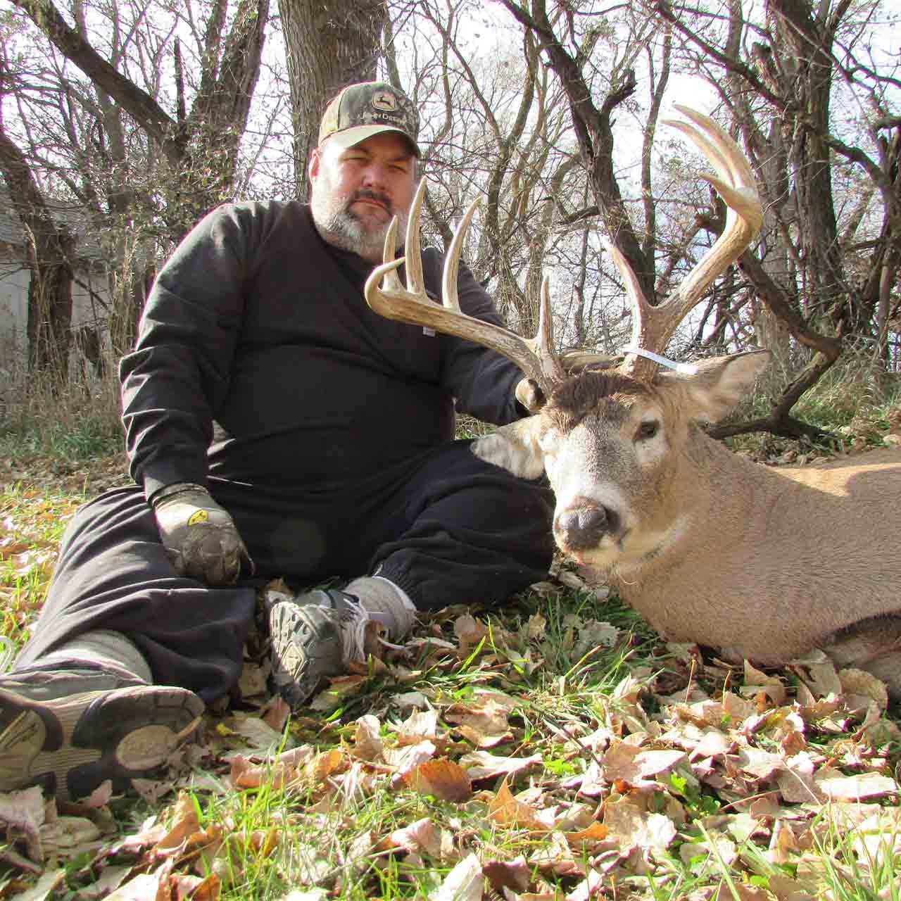 Whitetail Archery hunt in Nebraska