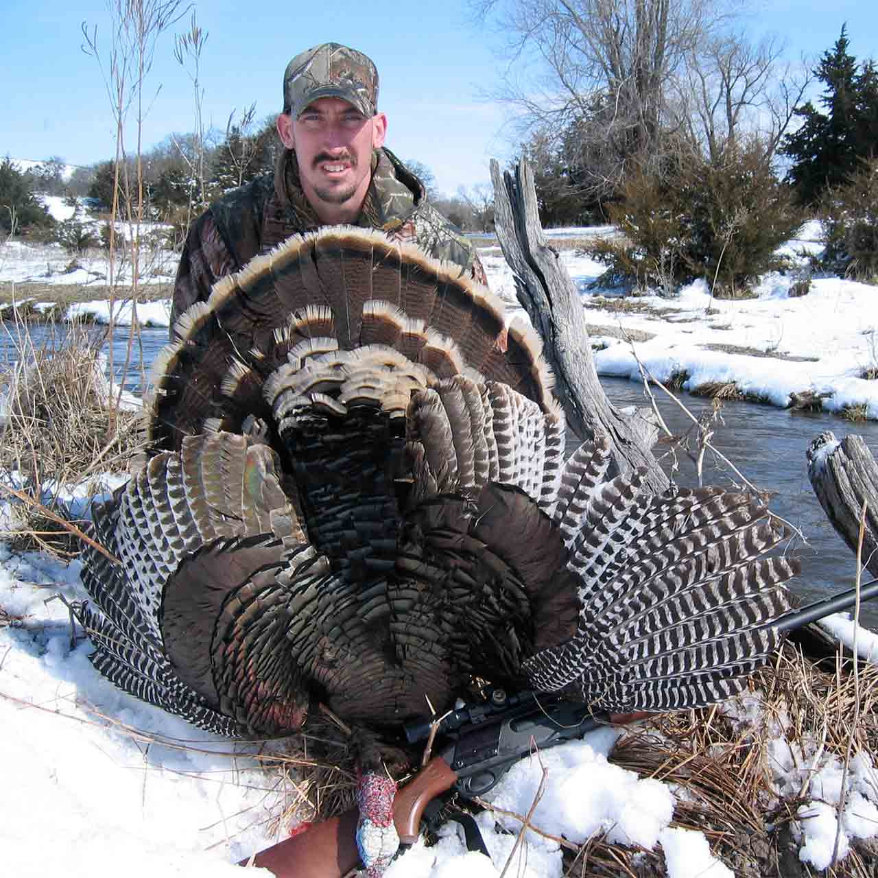 Merriam's turkey hunt
