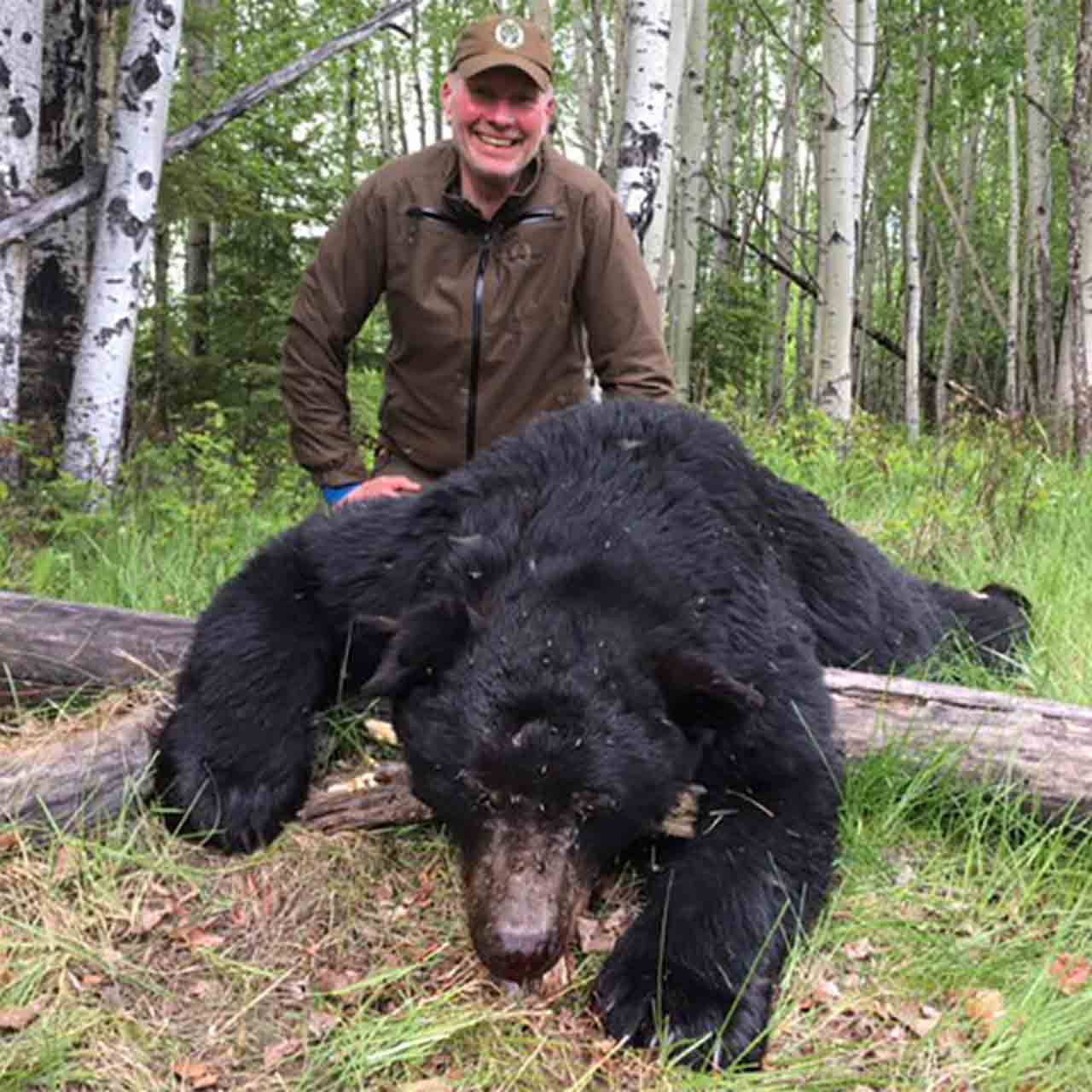 Spring Black Bear Hunt in British Columbia