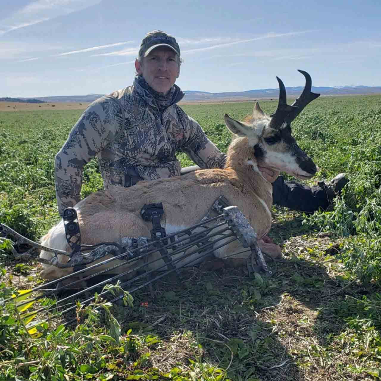 Archery antelope hunt in Montana with Anchor P Outfitters