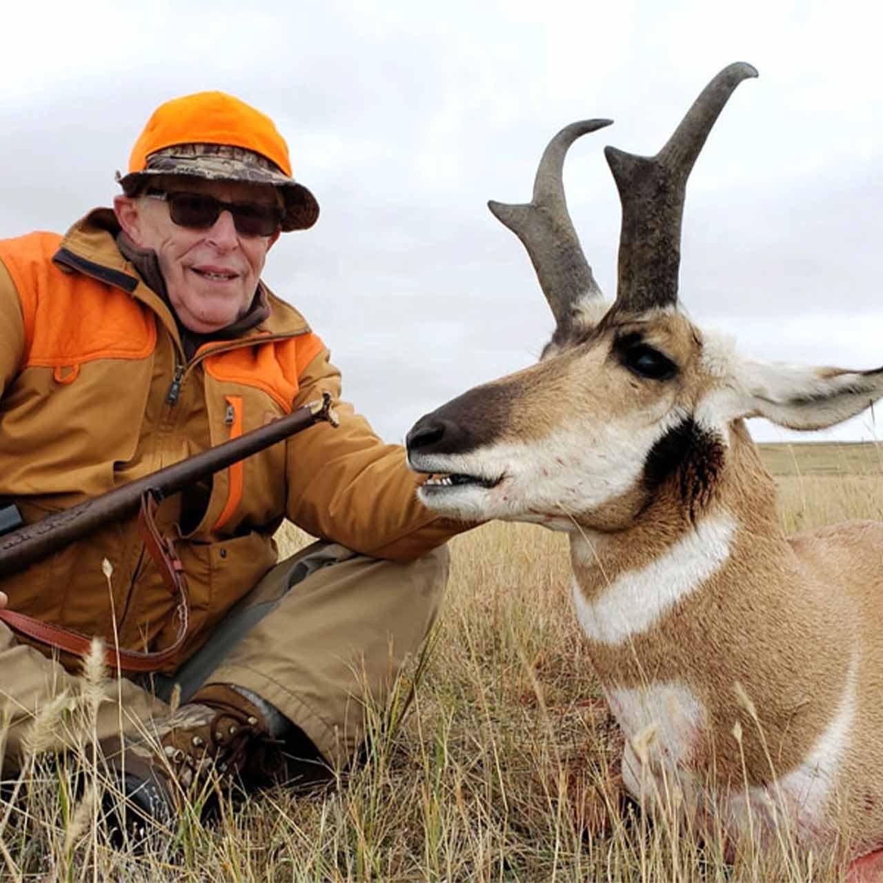 Antelope rifle hunt