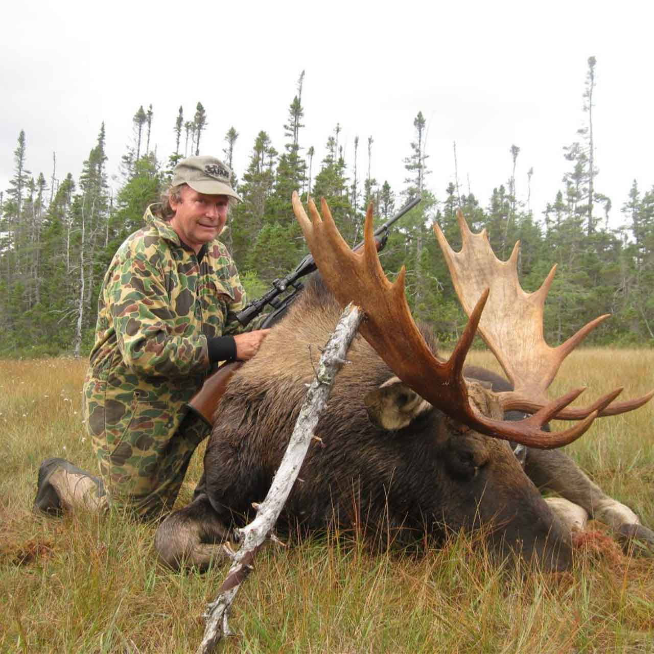 Moose combo hunt