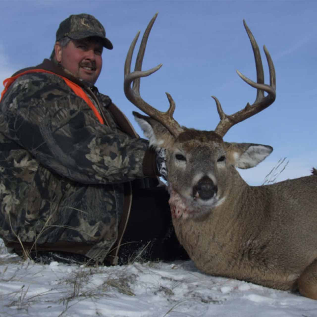 Whitetail hunt in Montana with Trophies Plus Outfitters