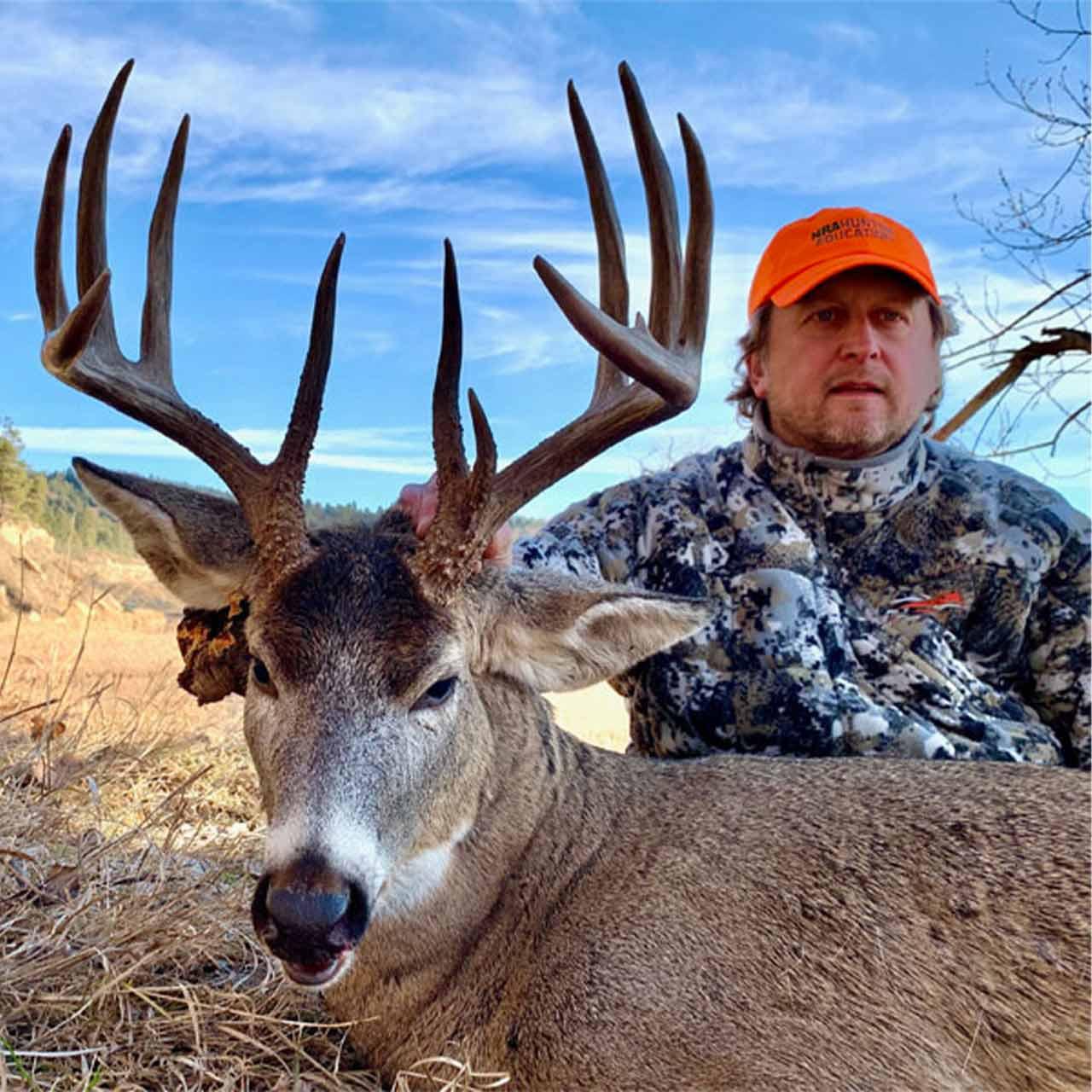 Whitetail deer hunt.