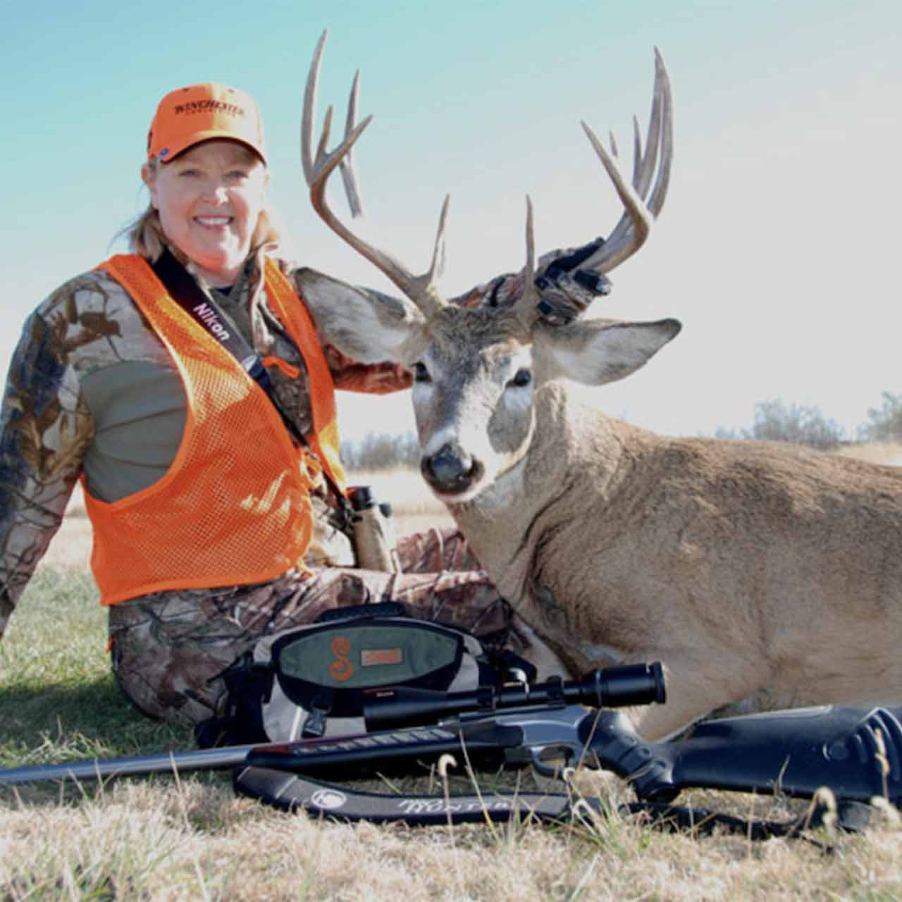 Fully guided whitetail deer hunt