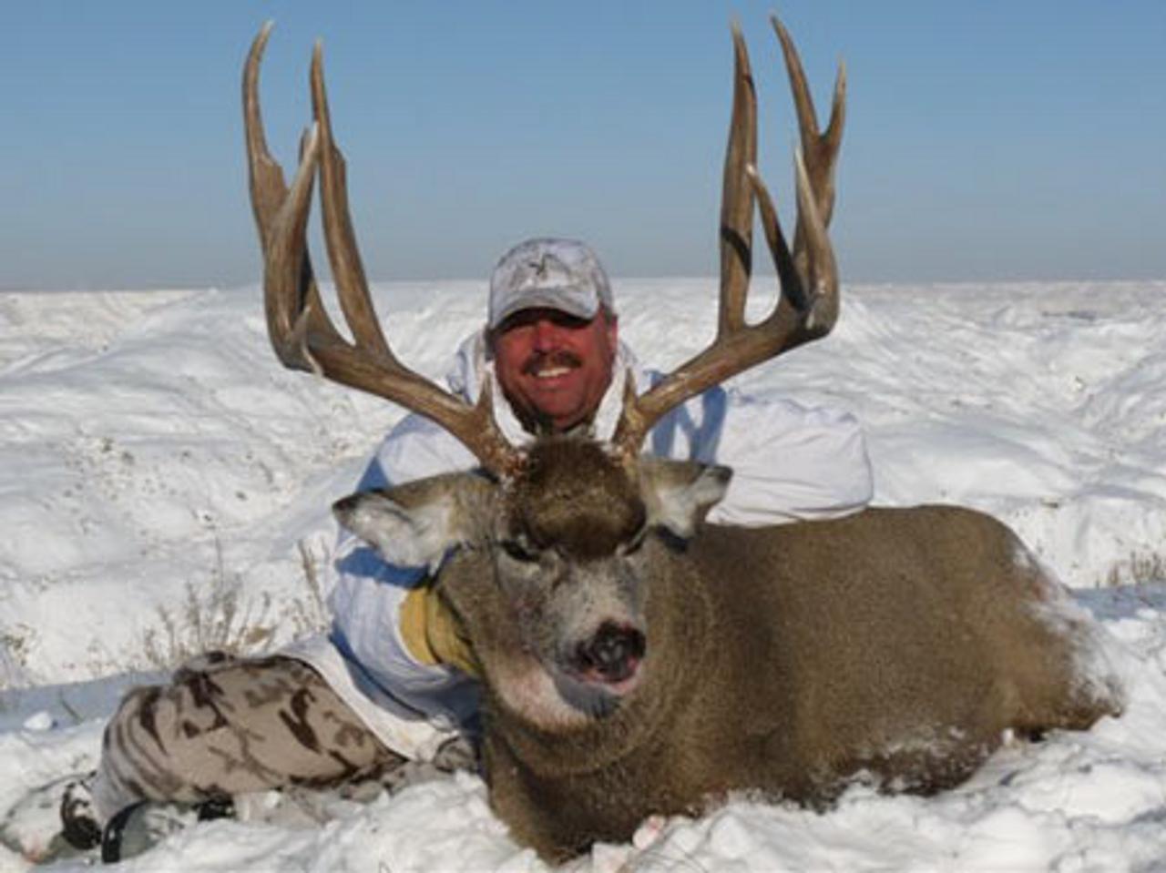 Mule Deer Rifle - Alberta - 1042