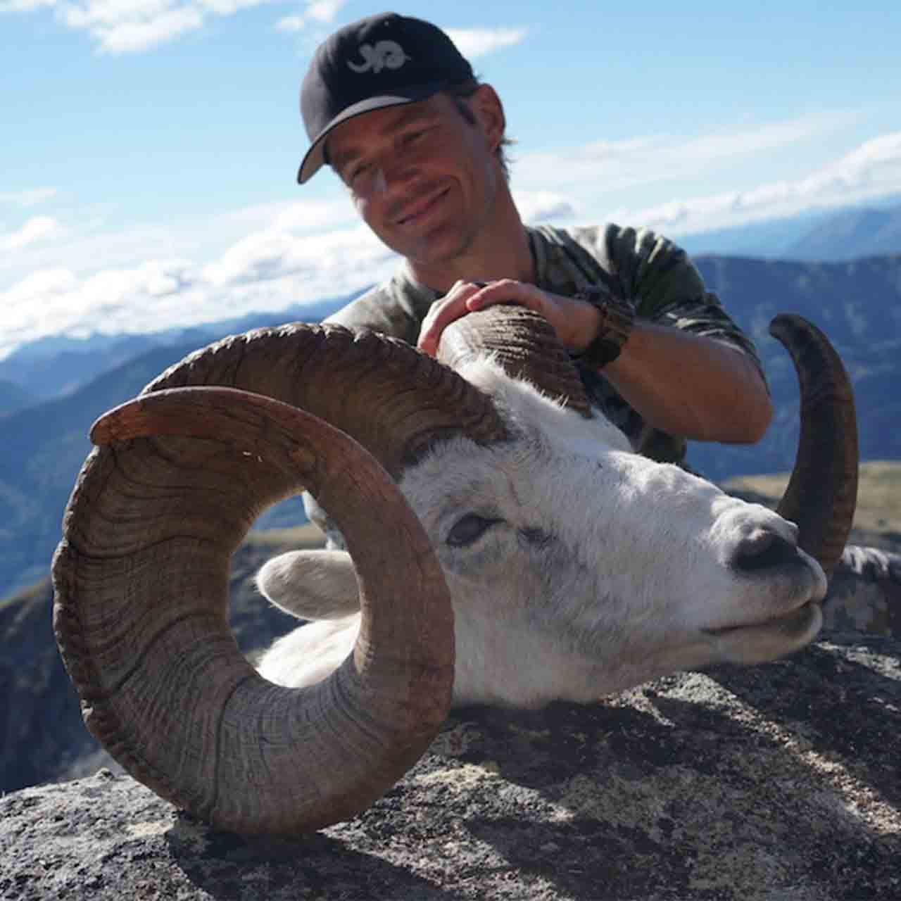 Stone Sheep hunt in Yukon, Canada