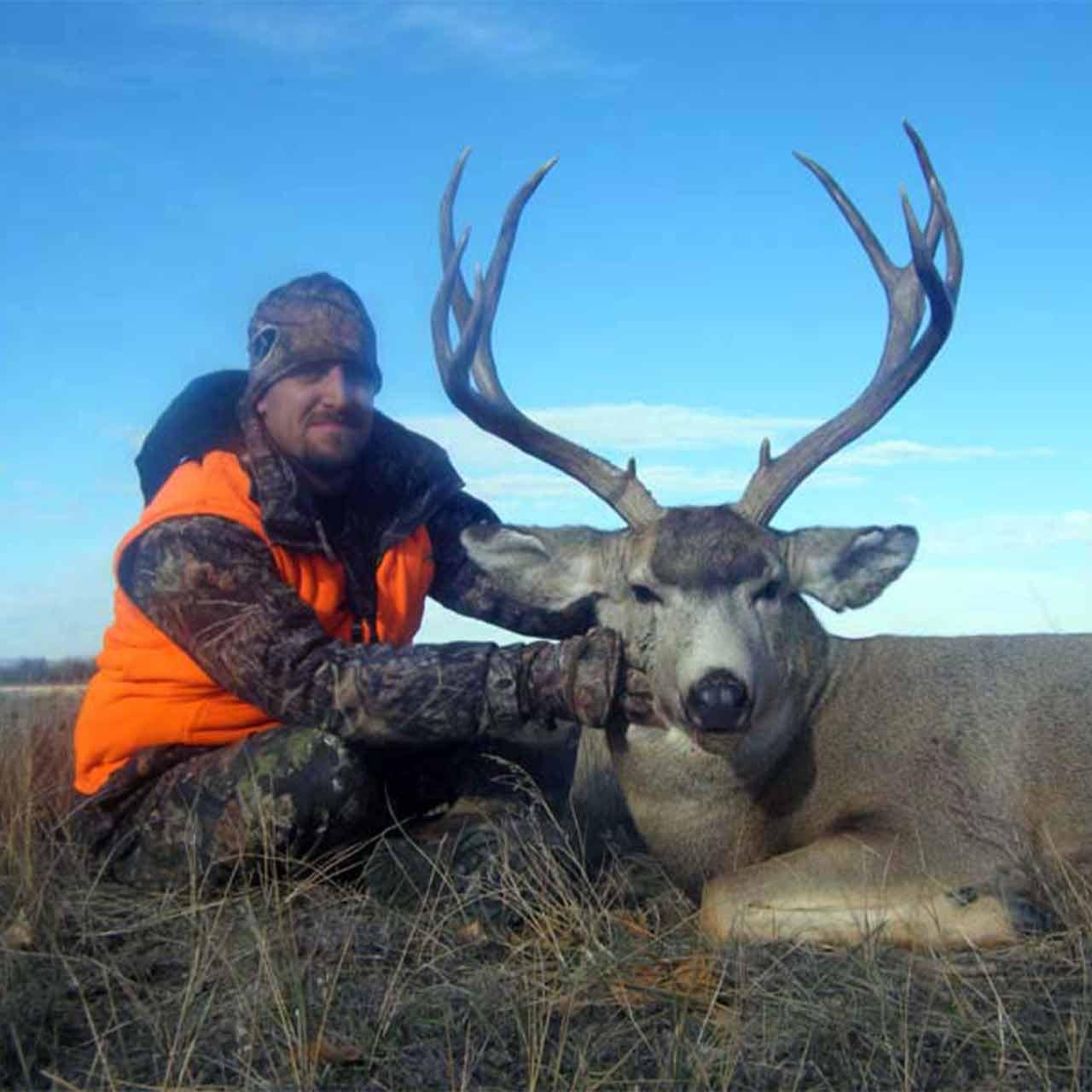 Mule deer hunt in Trophies Plus Outfitters