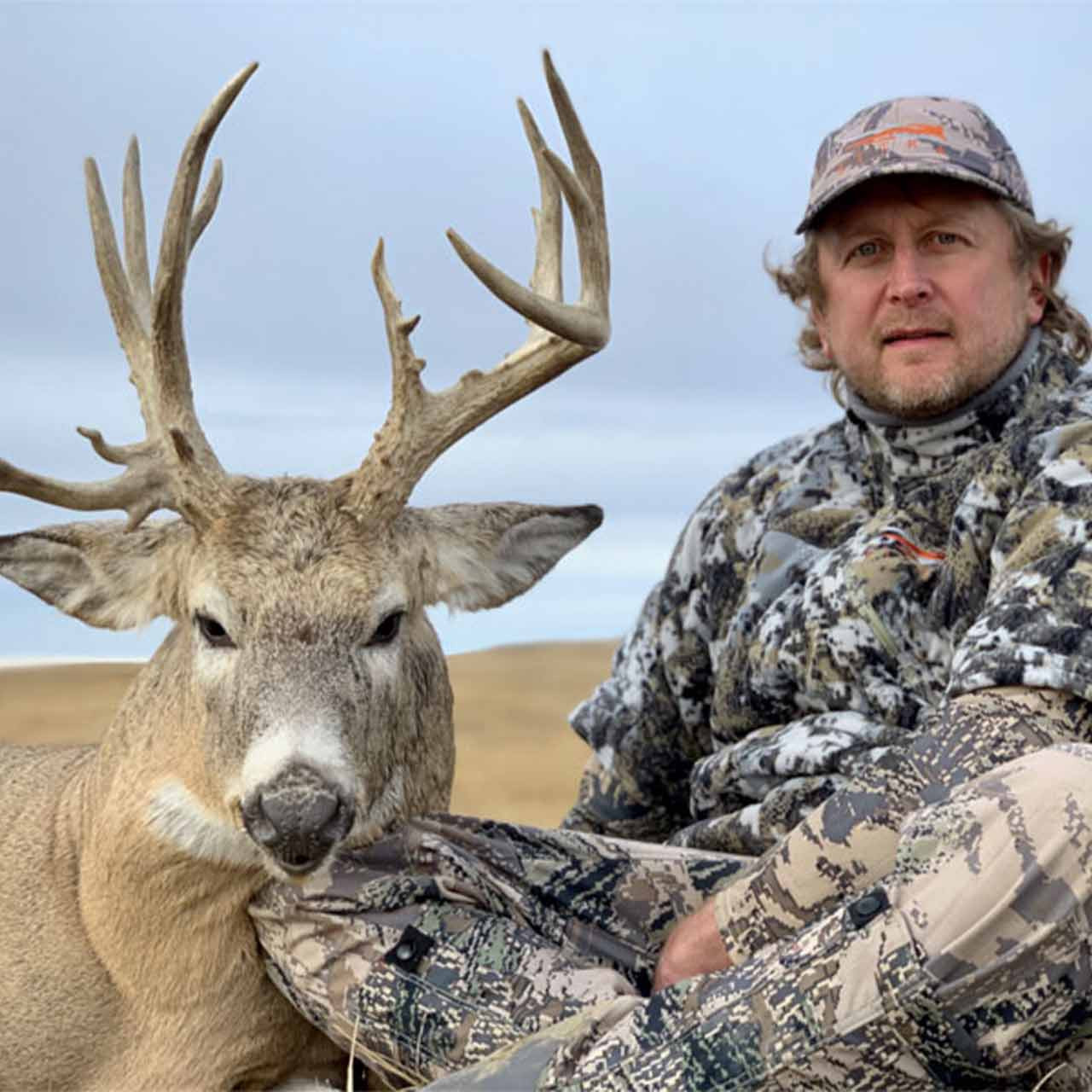 Whitetail deer hunt at Trophies Plus Outfitters