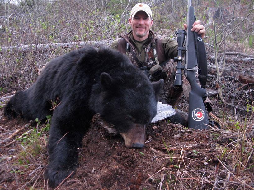 British Columbia Spot and Stalk Black Bear Hunt