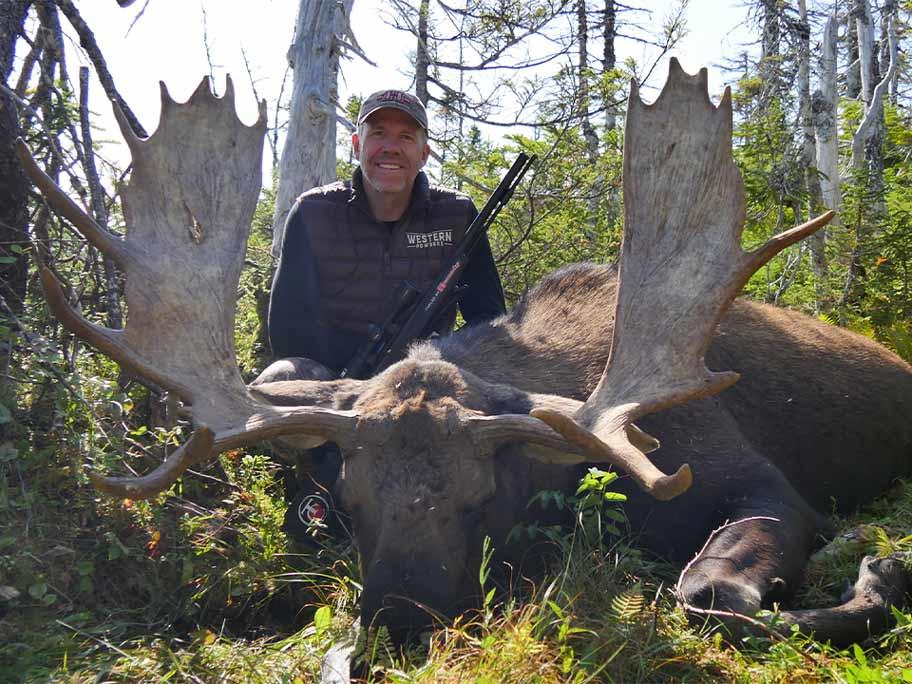 Newfoundland Remote Camp Moose Hunt