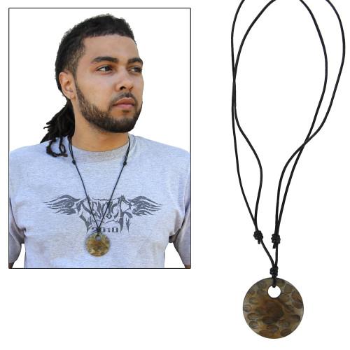 Infinity Boho Avalon Handmade Horn Pendant Necklace