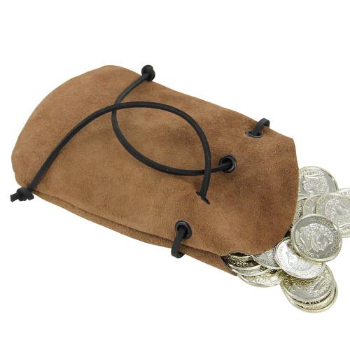 Suede Middle Ages Simple Elizabethan Coin Purse