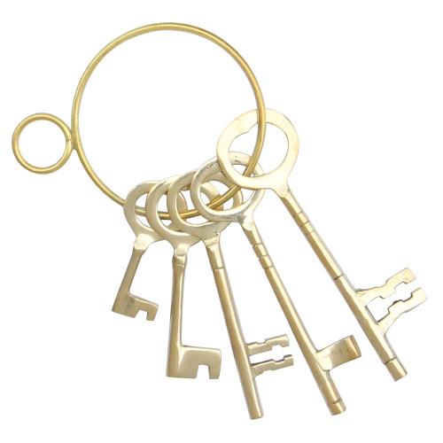 Infamous Brass Carlisle Castle Dungeon Keys
