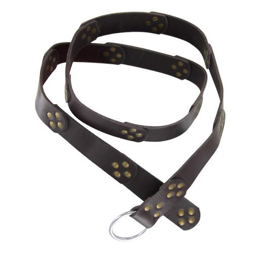 Handmade Warrior Status Medieval Leather Belt