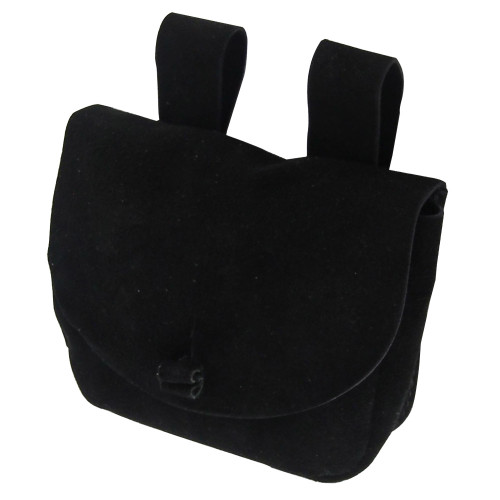 Medieval Common Man Suede Belt Pouch