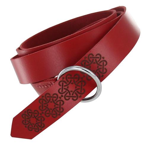 Leather Power of Love Viking Belt