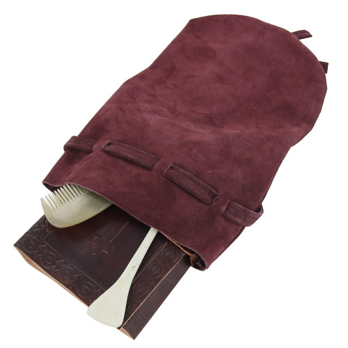 Silk Weavers Suede Long Journey Bag