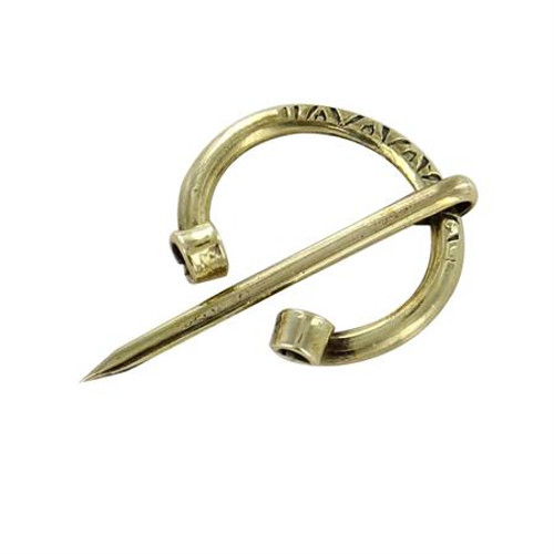 Brass Horse Shoe Clasp