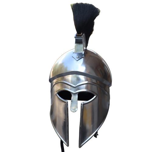 Ancient Greece Italo-Corinthian Helmet with Black Plume
