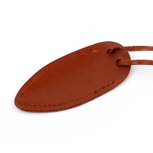 Damsel Miniature Pocket Neck Knife Necklace | Brown Sheath |