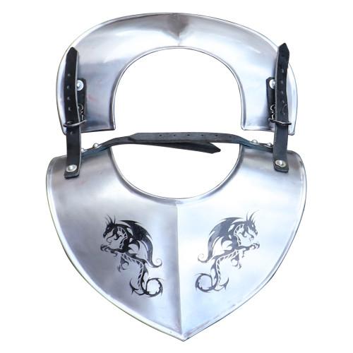 Dragon Hunter Medieval Steel Adjustable Gorget Armor