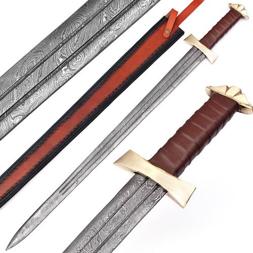 Damascus Viking Warrior Sword
