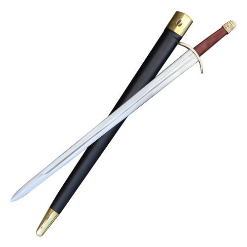 European Historical Replica Decorative Display Sword Scabbard Included