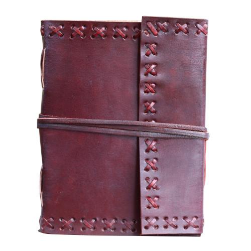 Eislyn Premium Medieval Brown Leather Writing Journal