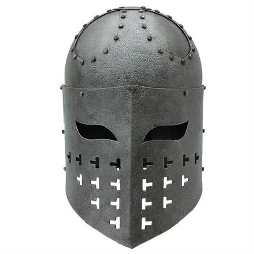 Fully Functional Spangenhelm Steel Helmet