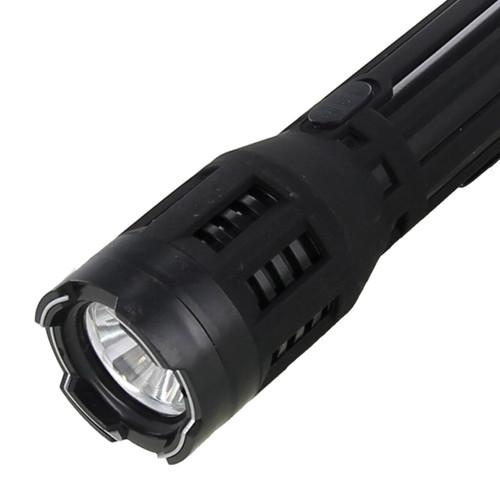 9.8 Million Volts Sinners Retribution Stun Gun Flashlight
