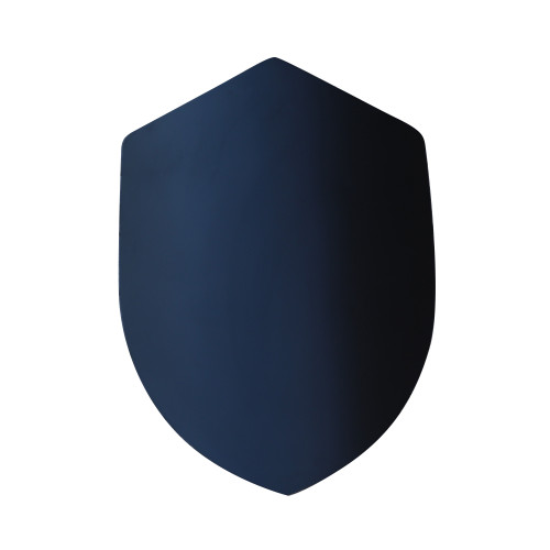 14th Century Four Point Functional Steel Matte Black Medieval Battle Shield