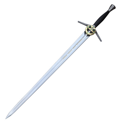 Monster Hunter Decorative Replica Steel Sword With Scabbard [TV Series Edition]