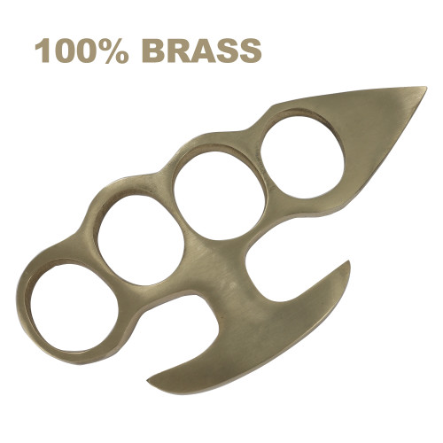 Underdog 100% Pure Brass Knuckleduster Novelty Paper Weight Accessory